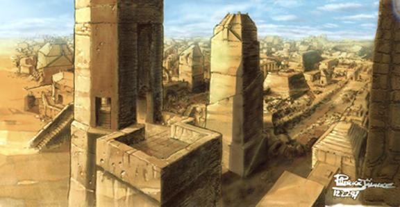Ancient Mesopotamian Architecture A City In Ancient Mesopotamia
